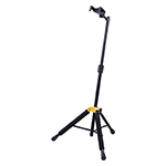 AUTO GRIP SYSTEM (AGS) SINGLE GUITAR STAND W/FOLDABLE YOKE