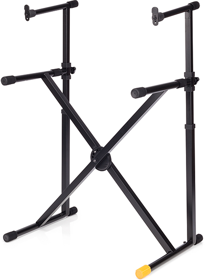EZ-LOK DOUBLE TIER X-KEYBOARD STAND