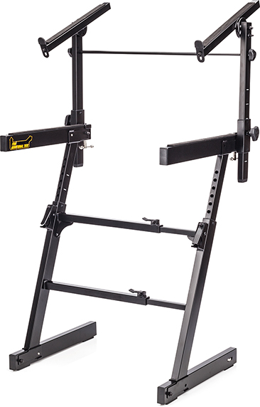 AUTOLOCK Z-KEYBOARD STAND W/TIER