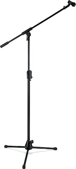 EZ CLUTCH TRIPOD MICROPHONE STAND W/BOOM & EZ MIC CLIP