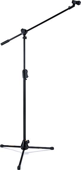 EZ CLUTCH TRIPOD MICROPHONE STAND W/2 IN 1 BOOM & EZ MIC CLIP