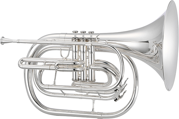 1000 Series JHR1000MS Marching French Horn