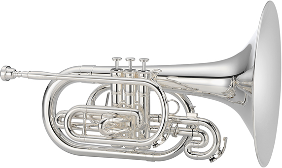 1100 Series JMP1100MN Marching Mellophone