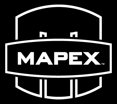 Primary Mapex Logo - Black Background