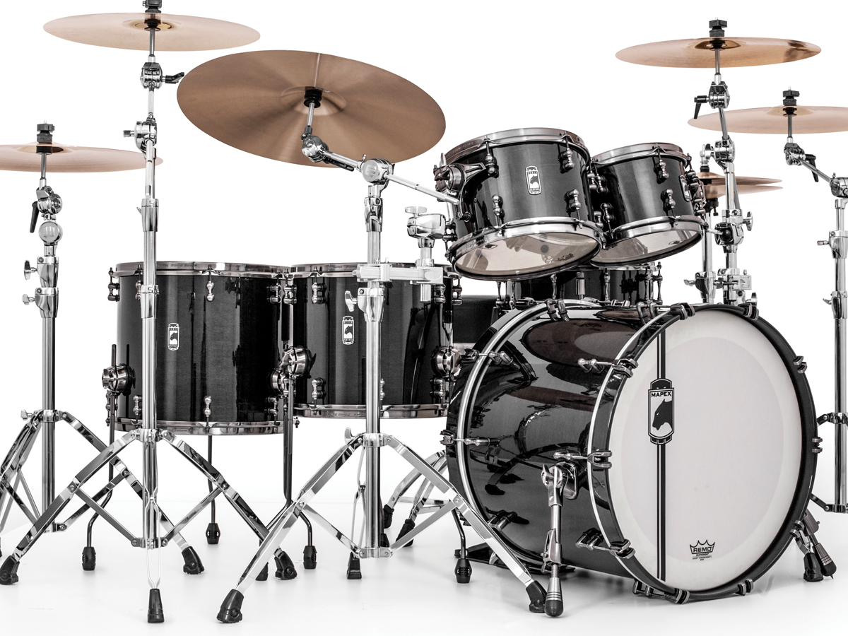 868737962 Mapex Drums - Mapex Announces New Additions to Black Panther Line
