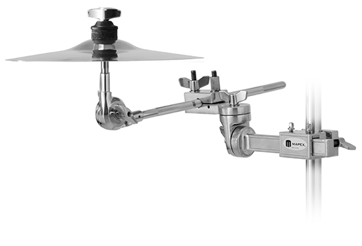 MARS SERIES CYMBAL ARM W/DUAL-AXIS EXTENDABLE MUTLI-CLAMP