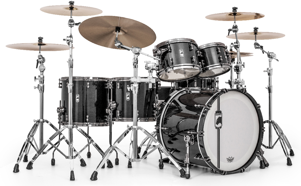 mapex drums black panther
