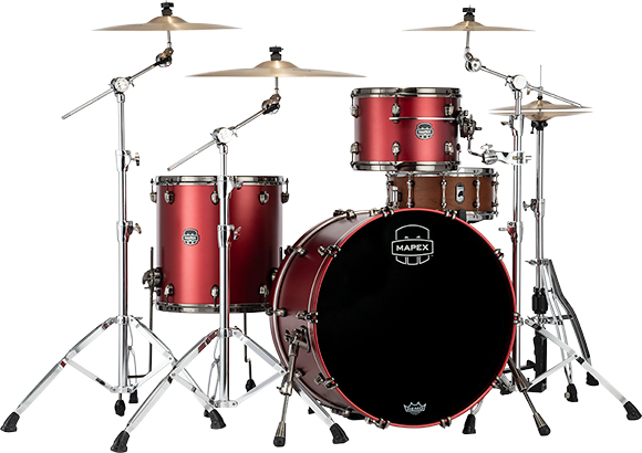 Saturn Evolution Hybrid Powerhouse Rock 3-Piece Shell Pack