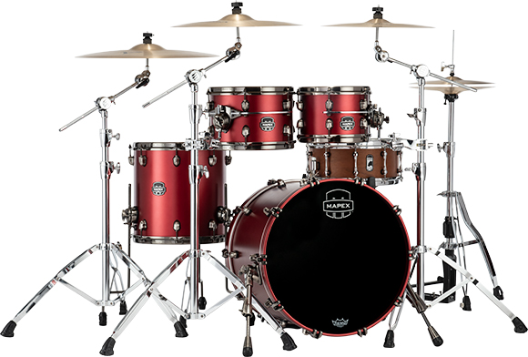 Saturn Evolution Fusion Maple 4-Piece Shell Pack