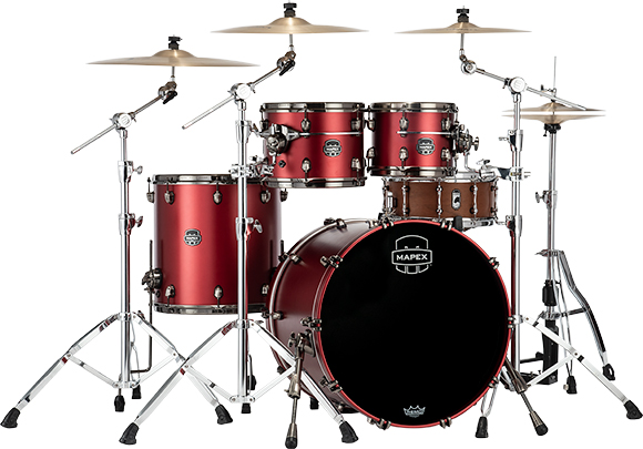 Saturn Evolution Rock Birch 4-Piece Shell Pack