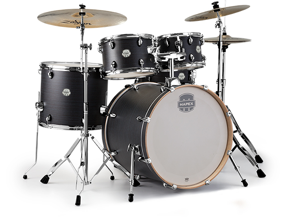 Storm Rock 5-Piece Drum Set