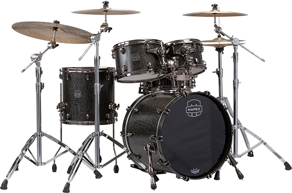 MAPEX SATURN V EXOTIC FUSION 4-PIECE SHELL PACK WITH SONICLEAR EDGE