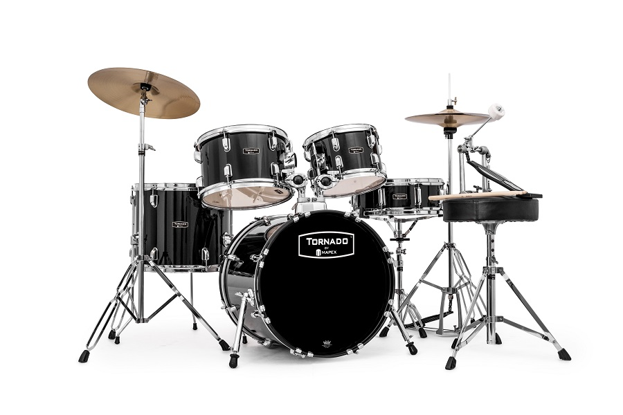 TORNADO BY MAPEX 5 PC COMPLETE SET UP