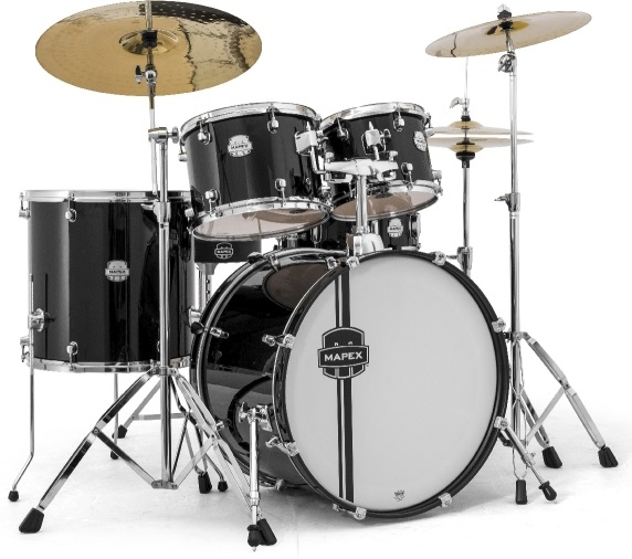 MAPEX VOYAGER ROCK DRUM SET