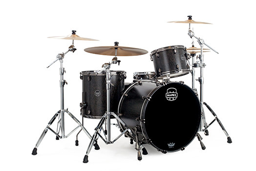 MAPEX SATURN V EXOTIC ROCK 3-PIECE SHELL PACK WITH SONICLEAR EDGE