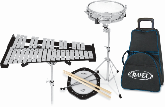 STUDENT COMBO KIT DRUM & BELL W/ WHEELS