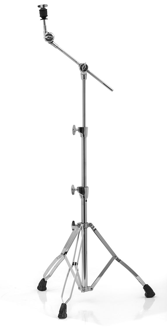 Mars Double Braced Medium Weight 2-Tier Boom w/ Ratchet Tilter - Chrome