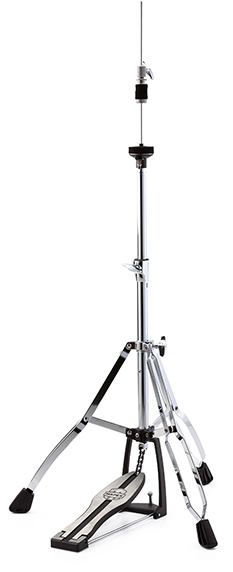 400 Double Braced 3-Leg Hi-Hat Stand - Chrome