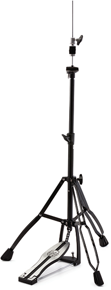 400 Double Braced 3-Leg Hi-Hat Stand - Black Plated