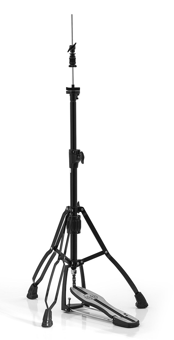 Mars Double Braced 3-Leg Hi-Hat Stand - Black Plated