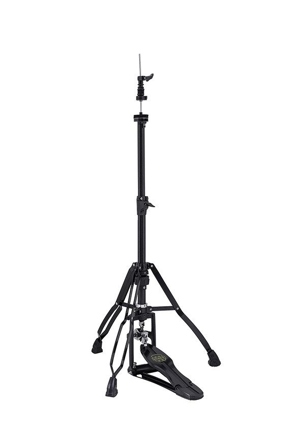 Armory Double Braced Swiveling 3-Leg Hi-Hat Stand w/ Quick Release - Black Plated