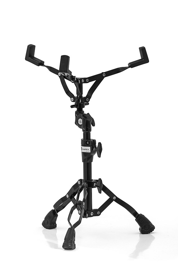 Mars Double Braced Ratchet Adjuster Snare Stand - Black Plated