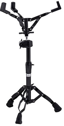 Armory Double Braced Snare Stand w/ Off Set Omni-Ball Snare Basket Adjuster - Black Plated