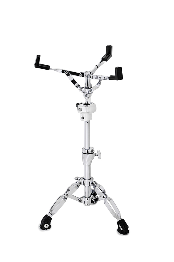 Falcon Double Braced Snare Stand w/ In-Line Omni-Ball Snare Basket Adjuster - Chrome