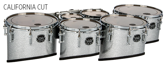Quantum Mark II Series Tenor Drums