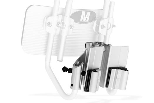 Aluminum J-arm Style Snare Attachment