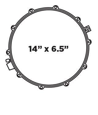 MPX Steel Snaredrum 14
