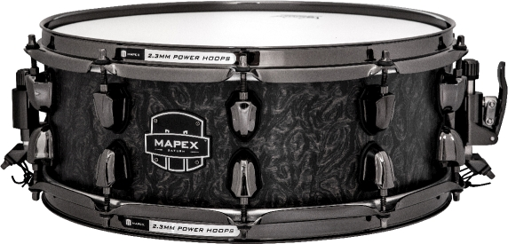 SATURN MH EXOTIC MAPLE WALNUT 14 X 5.5 SNARE