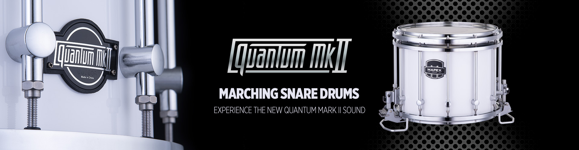 QMkII Snare Drums