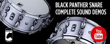 Black Panther Sound Demos