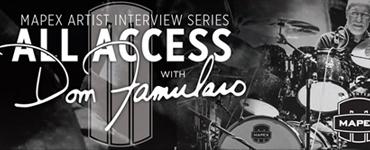 Dom Famularo Mapex Arist Interview Series