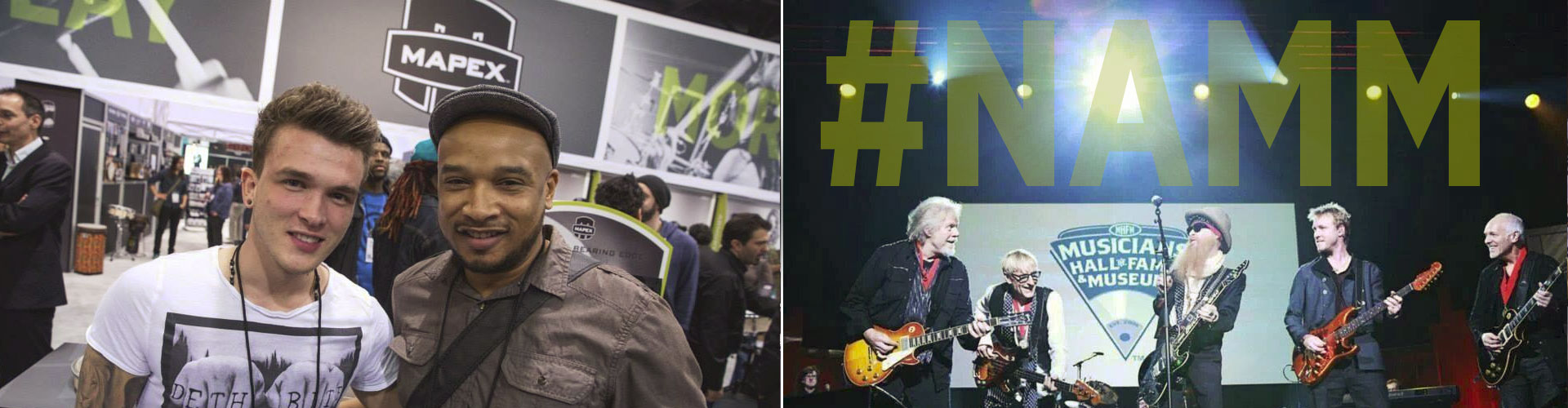NAMM 2014 - Ivan Edwards & Mark Beckett