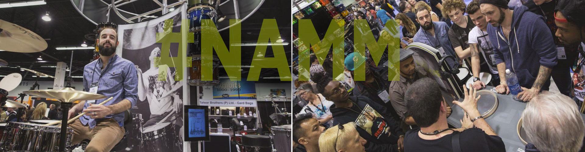 NAMM 2014 - Nick Hughs & Russ Miller